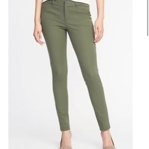 Olive Green Old Navy Pixie Pants